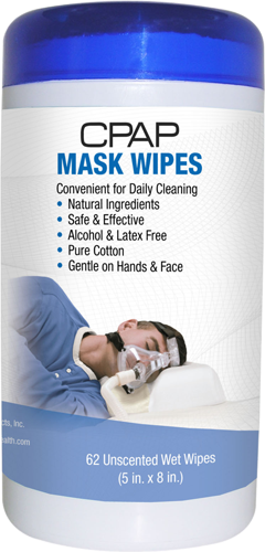 CPAP Unscented Wipes