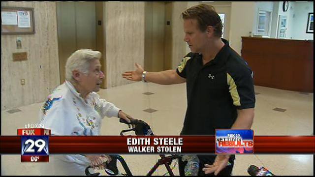 Seventh Street Medical Supply, FOX 29 Gets Results and Helps Out Woman Whose Walker Was Stolen