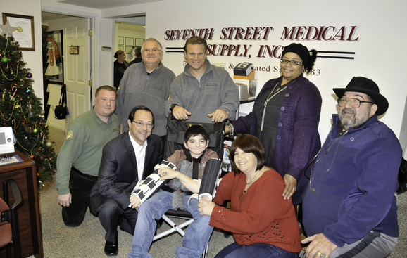 With The Help of Seventh Street Medical Supply, Fox 29 Gets Results and Gives Little Dominic a New Wheelchair