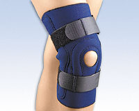 The FLA Safe-T-Sport® Hinged Knee Stabilizing Brace