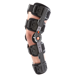 The Breg T Scope Premier Post-Op knee brace