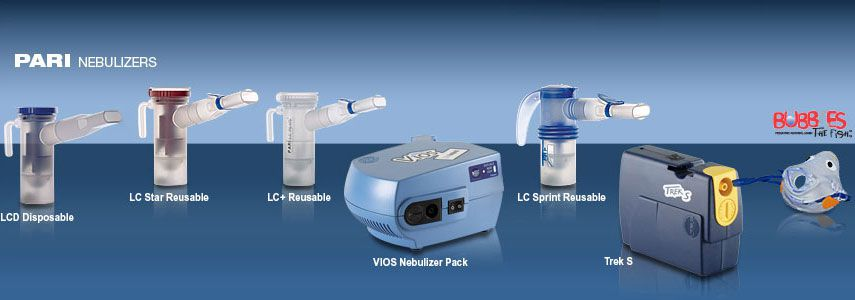 Adult & Pediatric Nebulizers & Battery Nebulizers