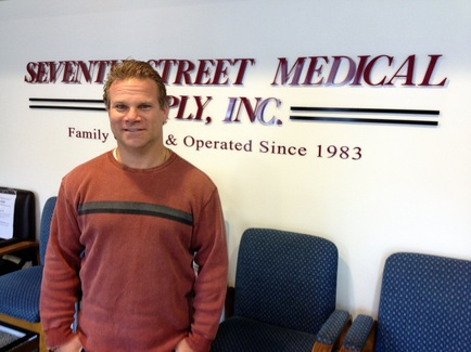 Jewish Exponent calls Andy Scolnick, President of Seventh Street Medical Supply a