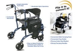 Excel Translator | Combination Rollator / Transport Chair